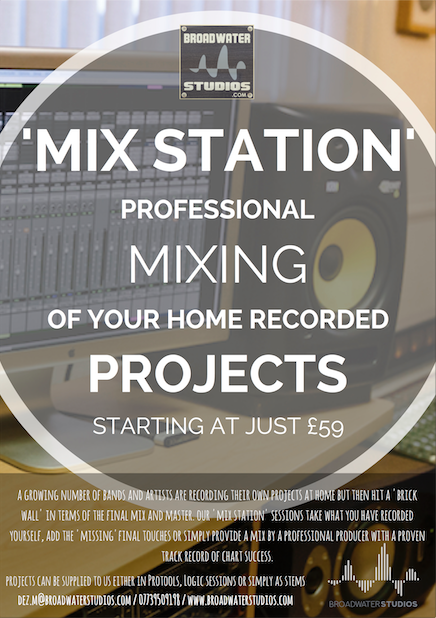 home recording mixing online